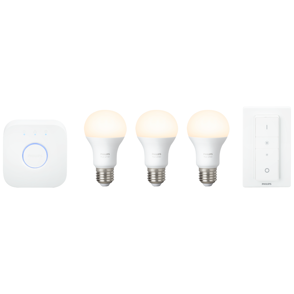 Philips Hue White startsæt inkl. dimming switch