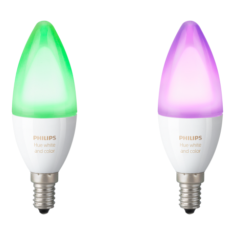 Philips Hue White color Ambiance E14 Dobbelt pakke