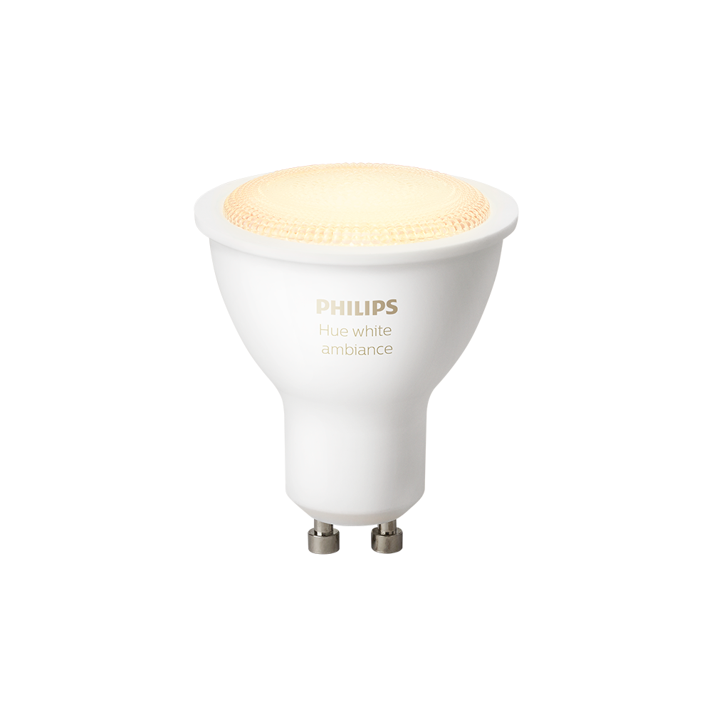 Philips Hue White Ambiance GU10 LED pære
