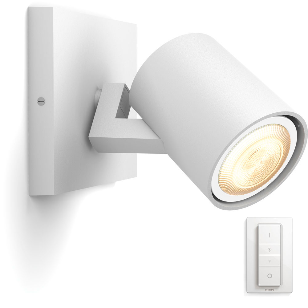 Philips Hue Connected Runner Spot Hvid + dimming switch